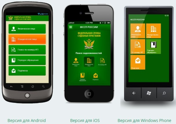 Мобильные версии на сайте